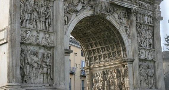 Benevento en la Region de Campania