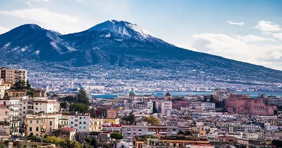 Nápoles en la Region de Campania