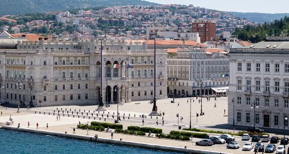 Trieste en la Región de Friuli Venezia Giulia
