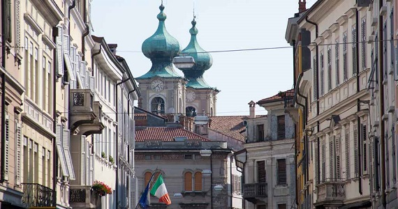 Gorizia en la Región de Friuli Venezia Giulia