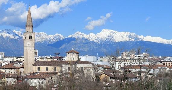 Pordenone en la Región de Friuli Venezia Giulia