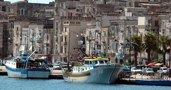 Taranto en la Región de Puglia
