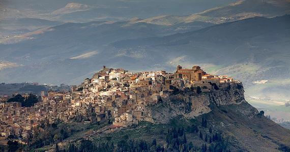 Enna en la Región de Sicilia