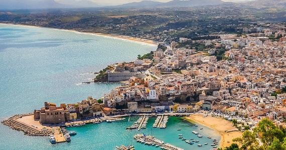 Trapani en la Región de Sicilia