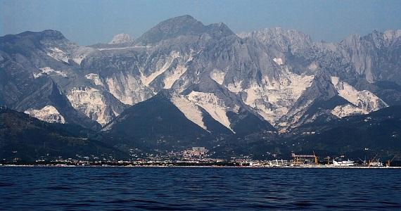 Massa Carrara en la Región de Toscana