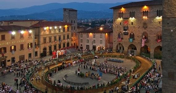 Pistoia en la Región de Toscana