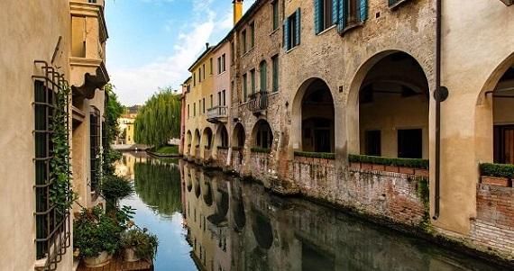 Treviso en la Región de Veneto