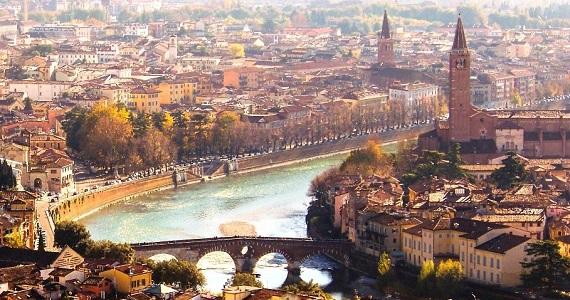Verona en la Región de Veneto