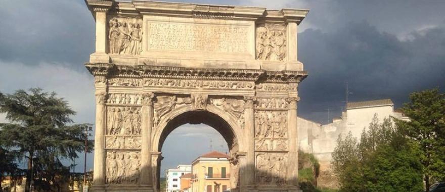 Benevento en la Región de Campania