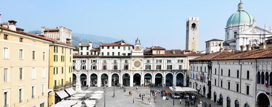 Brescia en la Region de Lombardia
