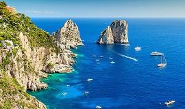 Tour que pasa por Capri