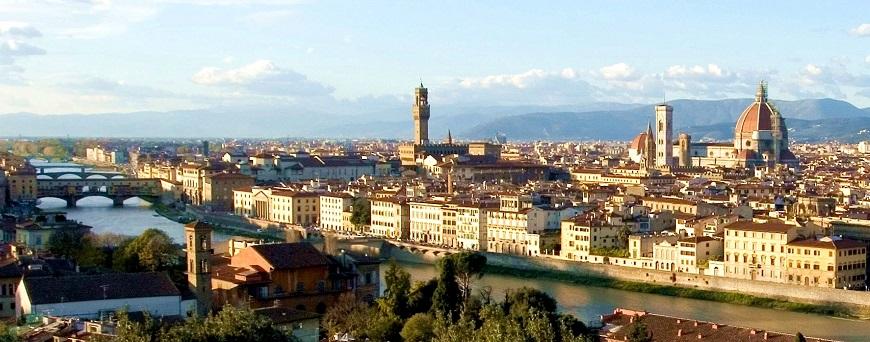 Florencia en la Region de Toscana