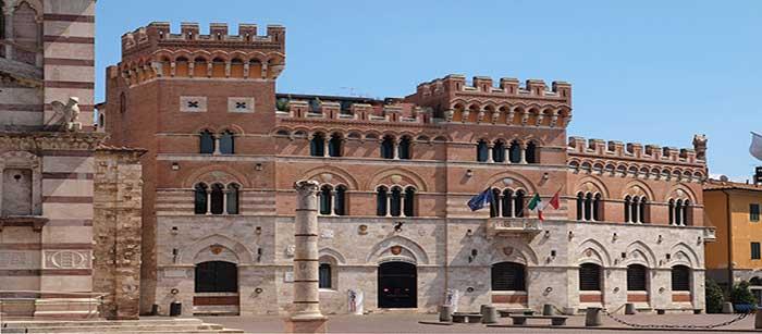 Grosseto en la Region de Toscana
