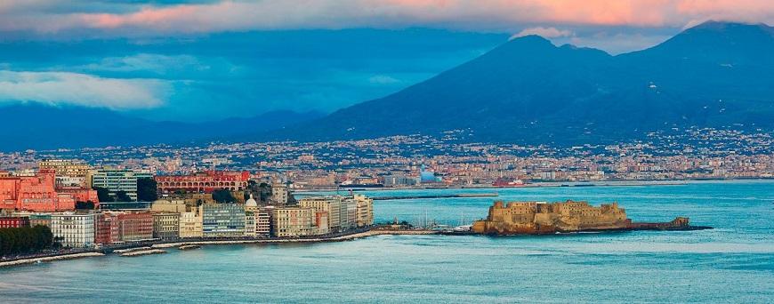 Nápoles en la Región de Campania