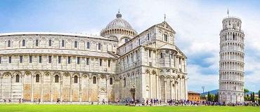 Tour que pasa por Pisa