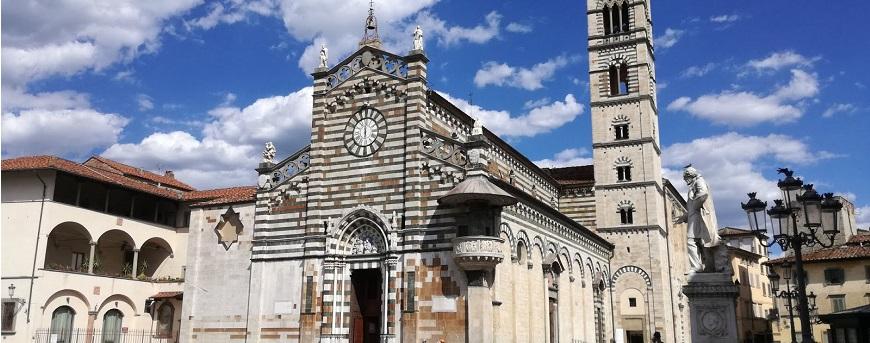 Prato en la Region de Toscana