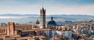 Tour que pasa por Siena