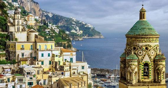 Salerno en la Region de Campania