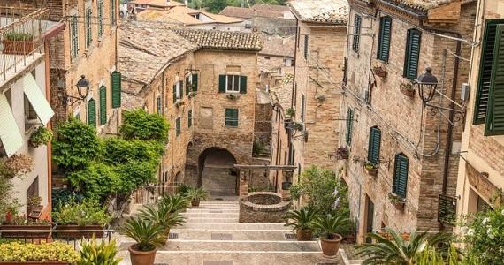 Ancona en la Region de le Marche