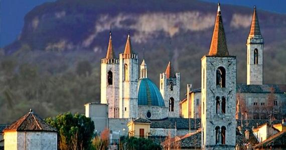 Ascoli Piceno en la Region de le Marche