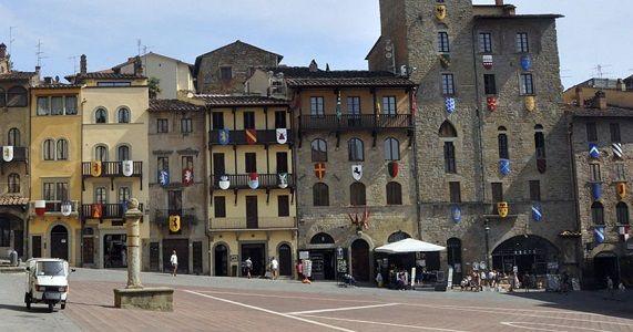 Arezzo en la Región de Toscana