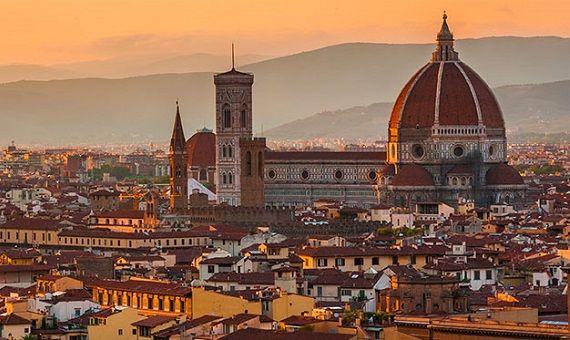 Florencia en la Región de Toscana