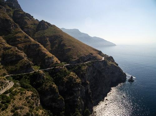 Carretera Nastro Azzurro por la Costa Amalfitana