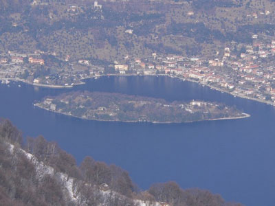 Isola Comacina in the Como lake