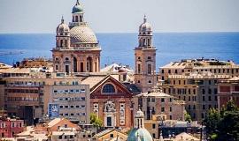 Genova de Liguria en Italia