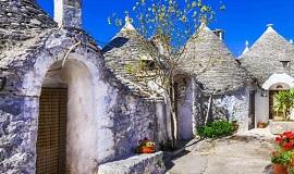 Alberobello en Puglia