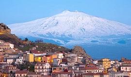 Tour que pasa por el Etna en Sicilia