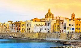 Trapani en Sicilia