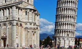 Pisa en Toscana