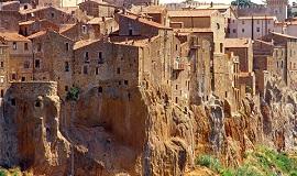Pitigliano en Toscana