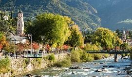 Merano en el Trentino Alto Adige