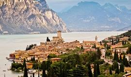 Lago de Garda en el Veneto