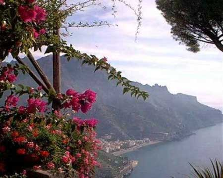 Ravello en la Costa Amalfitana