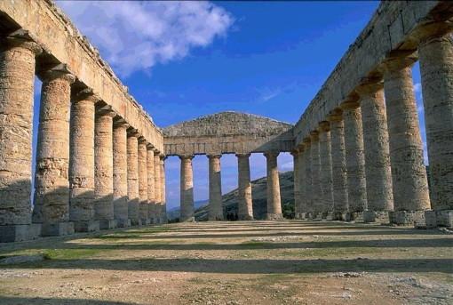 Segesta, en la provincia de Trapani