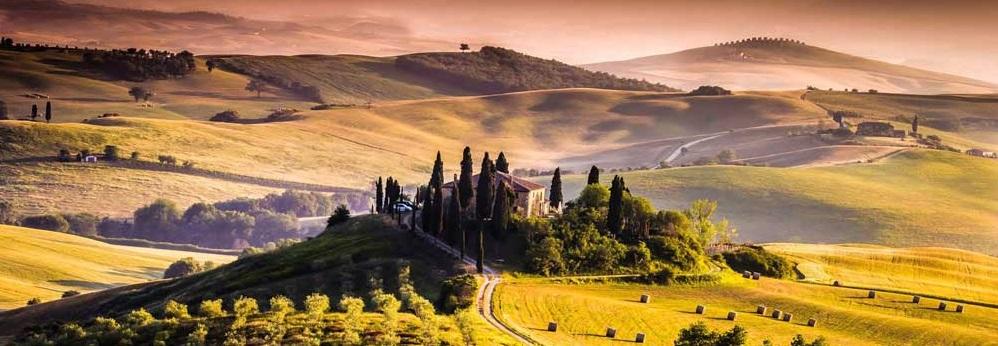Tour que pasa por la Toscana