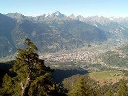 Aosta en el  Valle de Aosta