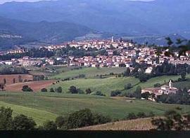 Bibbiena, en la provincia de Arezzo, en Toscana