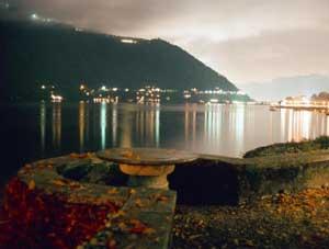 Cernobbio in Lago di Como in Italy