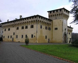 Villa Medicea de Cafaggiolo, en Barberino di Mugello - Florencia