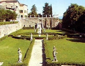 Volta Mantovana en Mantova, Lombardia, Italia