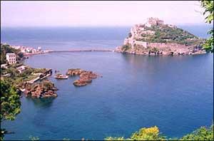 Ischia en la provincia de Napoles