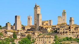 San Gimignano, en Toscana