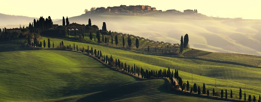 Toscana, region en el norte de Italia, localizacion, Donde se encuentra y situacion